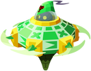 Green Gummi Saucer KHUX