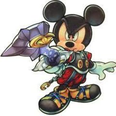 Artwork del Rey Mickey con Explorador Estelar.