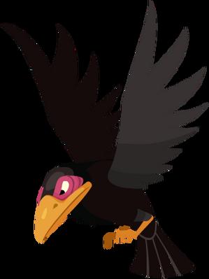 Maleficent's Raven KHX