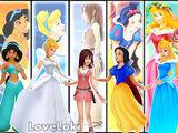 Princesas del Corazón