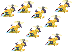 Yellow Copter Fleet