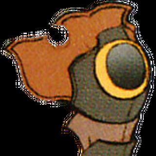 Artwork de la armadura de Terra en desuso