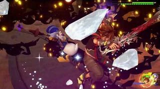 Kingdom Hearts III Critique Combat contre la Marée démoniaque