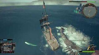 Kingdom Hearts III Critique Combat contre le navire de Luxord