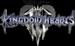 Kingdom Hearts III Logo KHIII