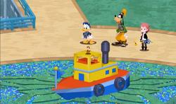 Chip en Dale verander die Gummi Ship KHX