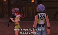 Riku conoce a Shiki 01 KH3D