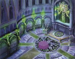 Hollow Bastion- Castle Chapel (Art) KH