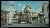 Statue d'Hercule (Mission photo) Kingdom Hearts III