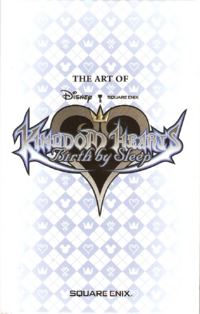 The Art of Kingdom Hearts Birth by Sleep