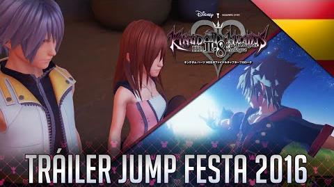 KH HD 2.8 FINAL CHAPTER PROLOGUE & KH3 - Tráiler Jump Festa 2016 (Sub