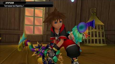 Kingdom Hearts 3D Dream Drop Distance HD Combat contre les Rapetou