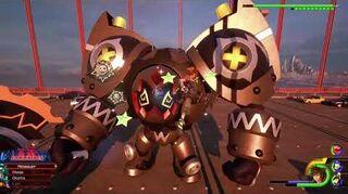 Kingdom Hearts III Expert Combat contre le Troll métalleux