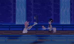 La Maestra Ava le desafía al jugador
