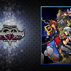 2º Walpaper de Kingdom Hearts Dream Drop Distance