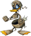 Donald- Mummy Form (Art) KH.png