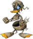 Donald- Mummy Form (Art) KH