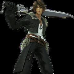 León con su Sable Pistola en Final Fantasy