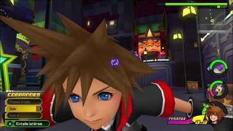 Kingdom Hearts 3D Dream Drop Distance HD Combat contre Pélisort 1