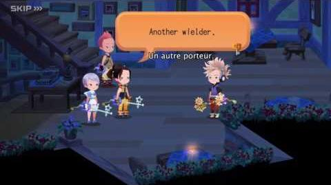 Kingdom Hearts Unchained χ Out Now Trailer (France)