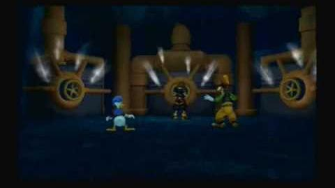 Kingdom Hearts II Final Mix Cavern of Remembrance