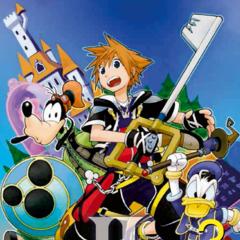 Cubierta del volumen 3 del manga de <i>Kingdom Hearts II</i>