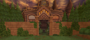 The Old Mansion - The Gate