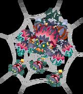 Venomous Spider (Spider web) KHX