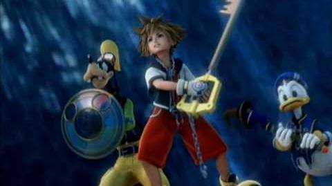 Kingdom Hearts 2 Intro (English Sanctuary) HIGH QUALITY!!