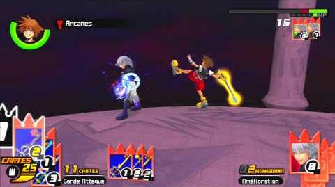 Kingdom Hearts Re Chain of Memories Combat contre Riku 4