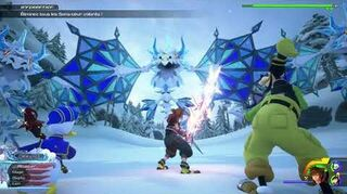 Kingdom Hearts III Critique Luge alpine & Combat contre les Dragons de givre