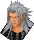 Xemnas- Normal Sprite KHD