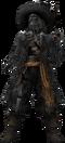 Captain Barbossa (Undead) KHII