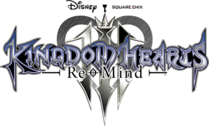 Kingdom Hearts III ReMind Logo KHIIIR