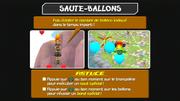 Saute-ballons instructions