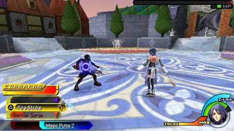 Kingdom Hearts Birth by Sleep - Vanitas I - Aqua Critical Mode