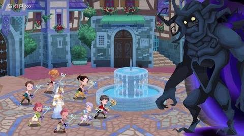 KINGDOM HEARTS Union χ Cross – Launch Trailer