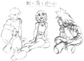 Kairi, Riku and Sora- Concept (Art) KH.png
