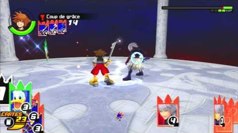 Kingdom Hearts Re Chain of Memories Combat contre Néo Riku 2
