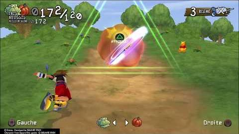 Kingdom Hearts Re Chain of Memories Panique potagère (trophée Trieur de légumes)