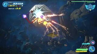 Kingdom Hearts III Expert Combat contre le Gardien fleuri