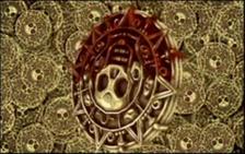 Medallón Azteca KHII