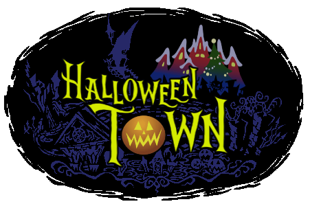 Image result for halloween town logo