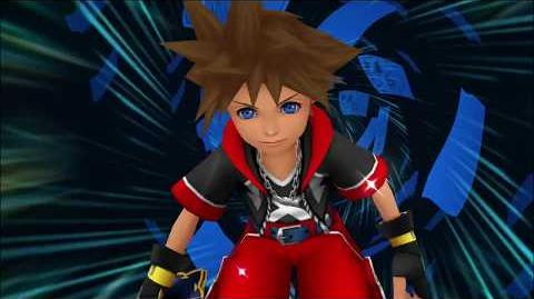 Kingdom Hearts 3D Dream Drop Distance HD Mode Transition Pays des Mousquetaires (Sora)
