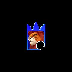 Simba en Naipe de Invocación