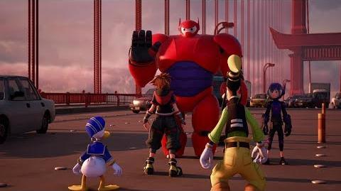 Clear Arrow/Big Hero 6 se une a Kingdom Hearts III