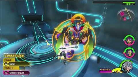 Kingdom Hearts 3D Dream Drop Distance HD Combat contre Commantis 2