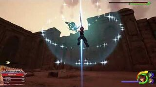 Kingdom Hearts III Critique Combat contre Terra-Xehanort et Vanitas