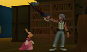 Riku's Musketeer Oath (Screenshot) KH3D