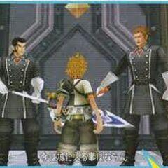 Aeleus y Dilan le impiden el paso a Ventus